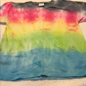 New Homemade tie dye shirt